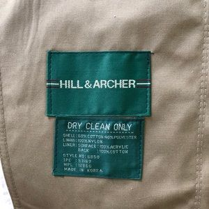 Hill & Archer Jackets & Coats - Men's Hill & Archer taupe trench coat